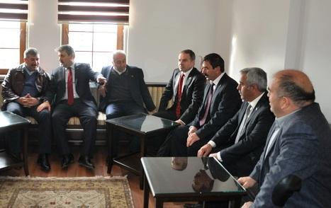 BBP Genel Başkanı Destici Akyurt'ta Ziyaret Etti