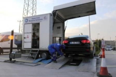 Gezici Mobil Araç Muayene Aracı Geliyor