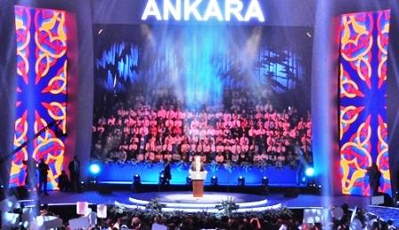 Başkan Gökçek 18 Büyük Projesini Gösterdi