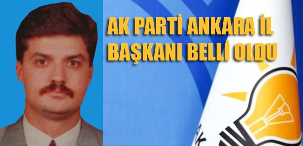 Ak Parti Ankara İl Başkanı Nedim Yamalı