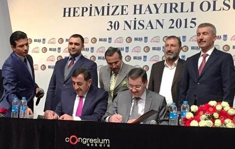 Ankara da Toplu is Sozlesmesi imzaladi