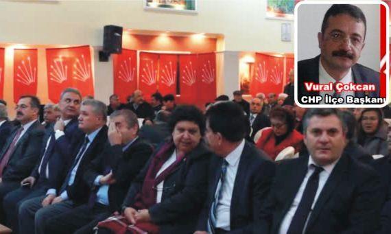 CHP İlçe Başkanı Çokcan Yeniden Seçildi
