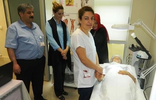 Hastane de Güzellik Kursu Açıldı