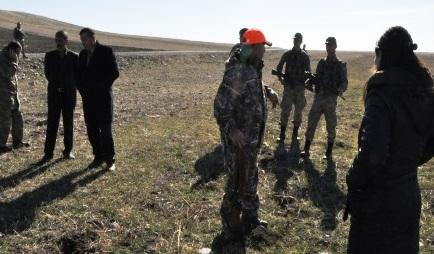 Jandarma Kaçak Avcıları Yakaladı