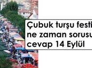 Çubuk turşu festivali 14 Eylül'de yapılacak