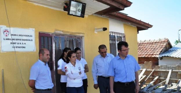 Sağlık Evlerine Tamir, Bakım ve Onarım