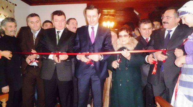 Çubuk'un Tarihi Konağı Açıldı