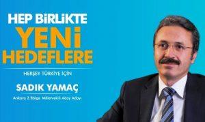 Ankaralı Sadık Yamaç Ankara için yola çıktı